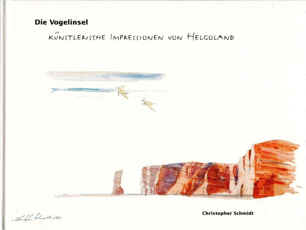 """Christopher Schmidt, """"Die Vogelinsel"""", künstlerische Impressionen, Helgoland, Vogelinsel, Naturillustration, Naturillustrationen, Naturmaler, Naturmalerei, Vogelleben, Vogelwelt"""